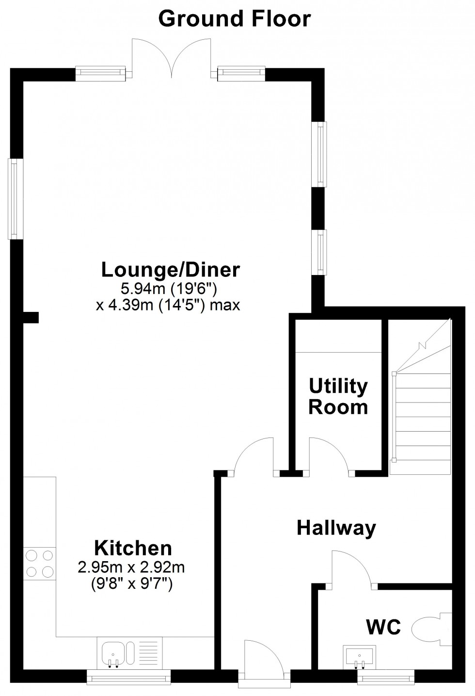 Floorplan for West Donyland Court, Colchester
