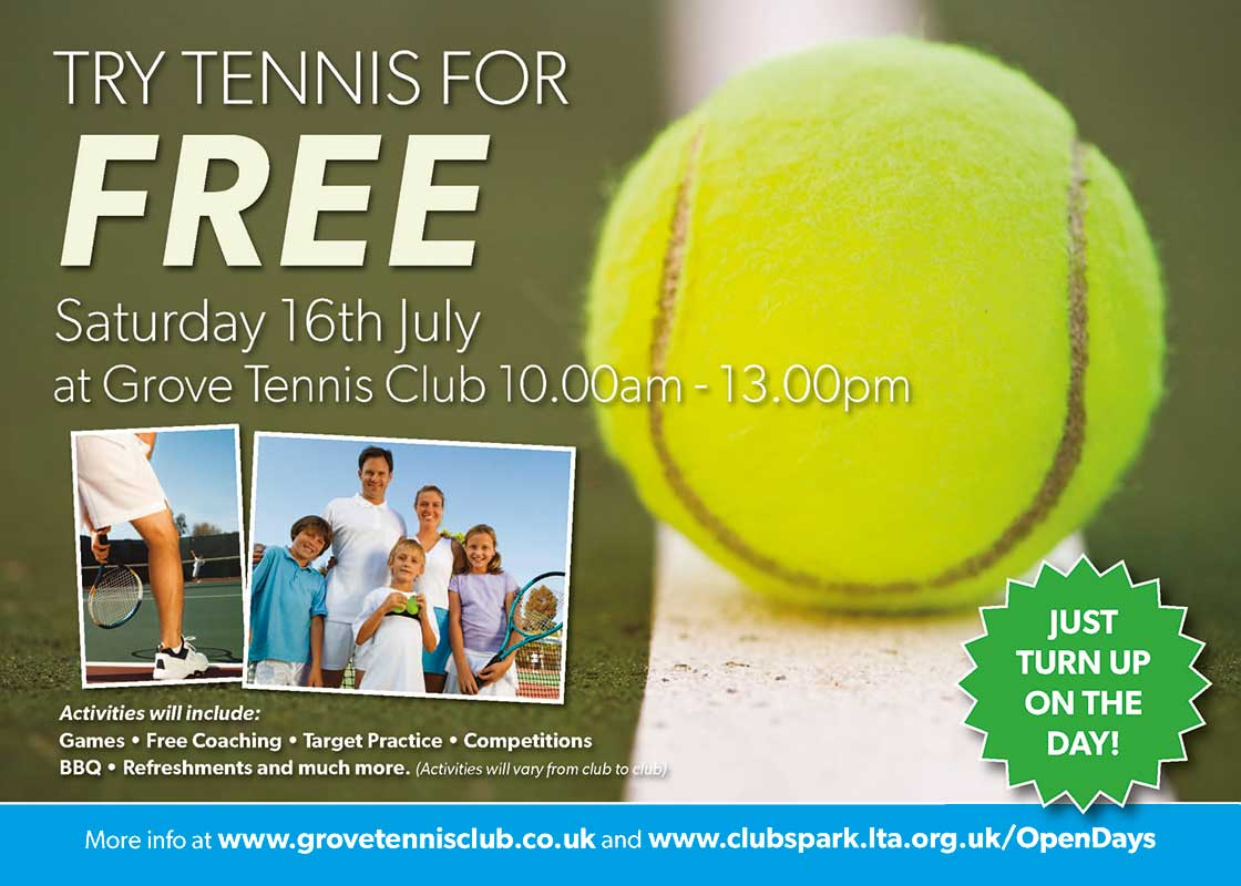 Try Tennis for Free